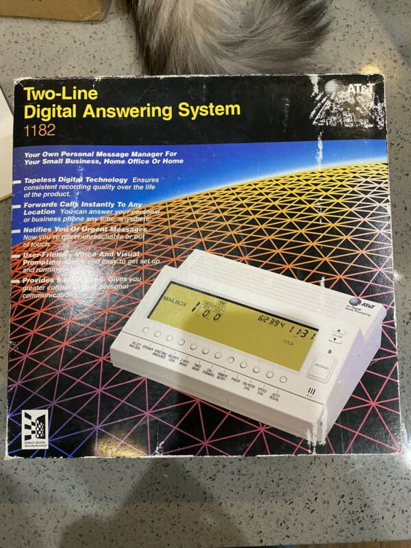 💎Brand new 💎AT&T Two-Line Digital Answering System w/ Power Adapter