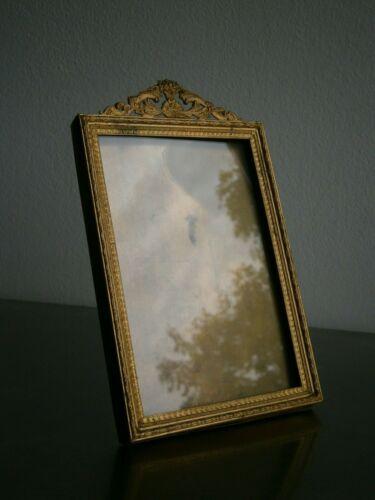 Photo Frame Antique Bronze Golden Decoration Basket Floral 10X14 Deco Classic