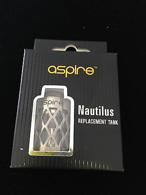 Aspire Nautilus Replacement Tank with Hollowed-Out Sleeve - Authentic