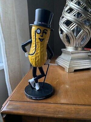 """NEW Vintage 1990 Planters Peanuts Mr Peanut Plastic Coin Bank Figure 8.5"""""""