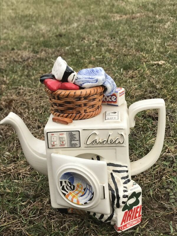 Paul Cardew Designer Teapot. Washing Machine. Limited Edition 2069 Of 5000