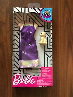 Barbie Fashion Pack Groomer dress with dog New in package