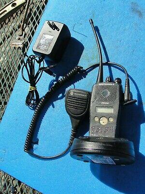 Motorola Pr400 Uhf 16ch Two Way Radio