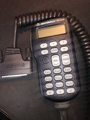 Motorola Hmn4044d Handheld Control Head Microphone For Astro Spectra Radio