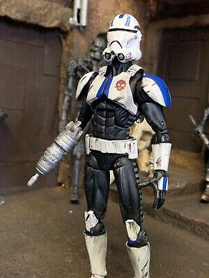 """Star Wars Custom 6"""" Black Series Echo Clone Trooper Action Figure Season 7 Wars"""