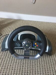Mint** Xbox 360 Wheel and Pedals