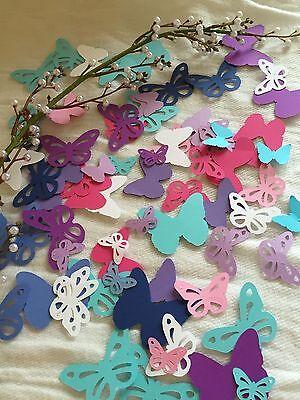 25 - 100 BUTTERFLY PAPER CUT - Butterfly Cut Outs