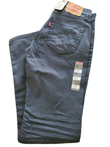 Levi's 511 Slim Fit Stretch Jeans Mens 31x32 - New - Free Sh