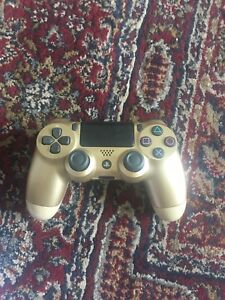 Gold Sony ps4 controller