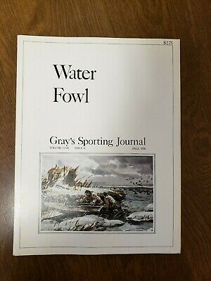 Waterfowl Hunting Journal - GRAY'S SPORTING JOURNAL  WATER FOWL FALL 1976 (FC 43-2)