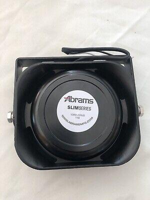 Abrams 100 Watt Slim Siren Pa Speaker