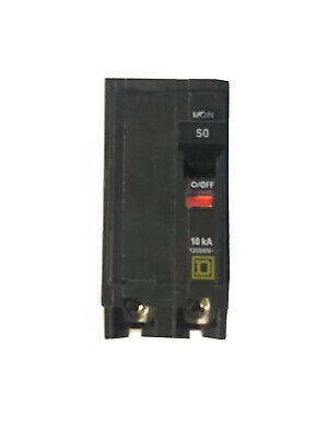 Qo250 Square D Circuit Breaker 2 Pole 50 Amp 240v New Same Day Shipping