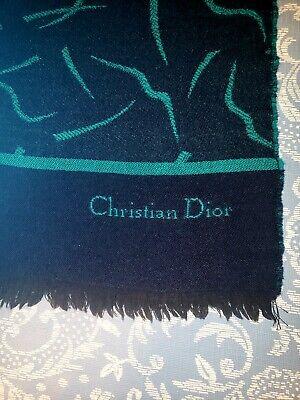 Vintage Scarf Styles -1920s to 1960s Vintage christian dior  scarf $20.00 AT vintagedancer.com