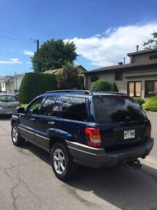 Jeep Grand Cherokee à vendre pour pièce ou route