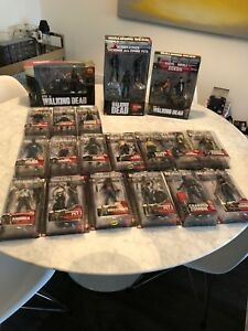 Walking Dead action figure collection
