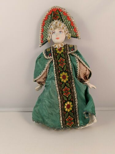 Middle East Ethnic Doll  Green Clothing