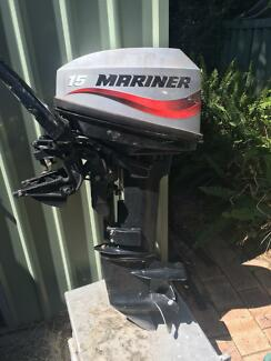 15hp mariner outboard motor East Fremantle Fremantle Area Preview