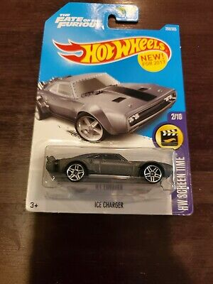 Hot Wheels 2017 HW Screen Time Ice Charger. The Fate of the Furious MOC
