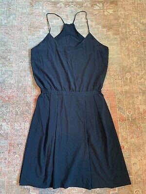Lululemon Women's Racerback Back Cut Out Dress Black Size 8