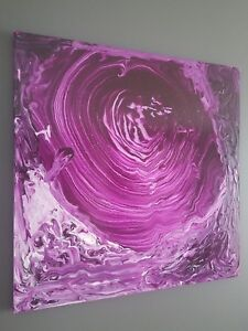 Abstract Canvas Painting By Montreal Painter