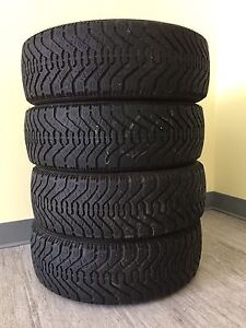 185/65 r14 Winter tires- Good Year Nordic
