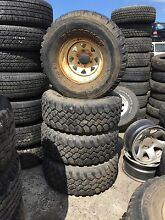 Toyota Hilux mud tyres 33x12.50R15 Hemmant Brisbane South East Preview