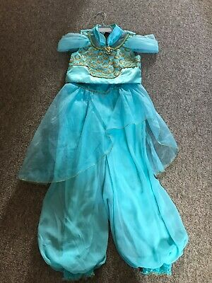 Disney store Jasmine Costume Dress Girls Aladdin age 7/8 worn once
