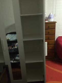 White three door cupboard Yandina Maroochydore Area Preview