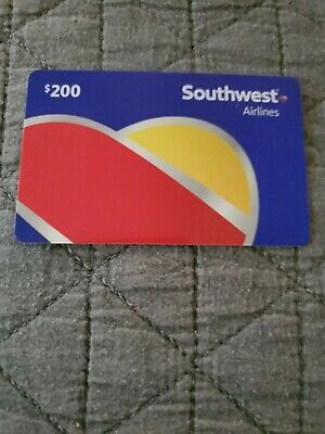 $200 Southwest Airlines Gift Card *Free Shipping*