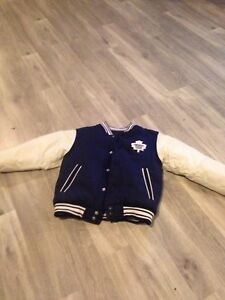 Toronto maple leafs kids jacket.