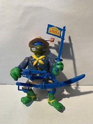 1992 TMNT Teenage Mutant Ninja Turtles Military 2 Kookie Kavalry Leo w/ Weapons