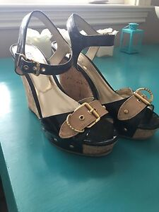 Guess wedge sandal size 8.5