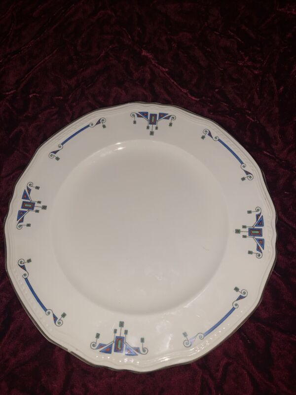 Alfred Meakin Orient Marigold Astoria Dinner Plates (2 Separate Pieces)