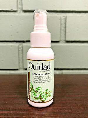 Ouidad Botanical Boost Curl Energizing & Refreshing Spray 2.5oz Travel Size -NEW