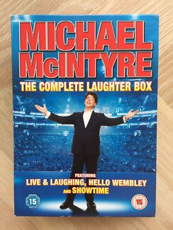 Michael McIntyre The Complete Laughter Box 3x DVD