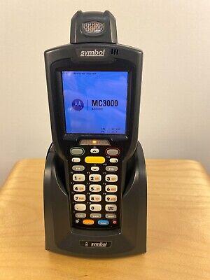 Motorola Symbol Mc3000 Wireless Barcode Scanner W Strap Stylus Dock