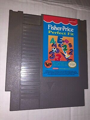 Fisher-Price: Perfect Fit (Nintendo Entertainment System, 1990) Cartridge Only