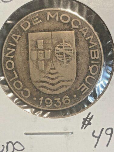 Mozambique 1936  Escudo  KM 66