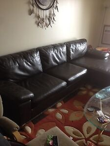 Leather Sectional couch for sale , moving