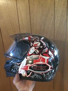 Kid snowmobile helmet