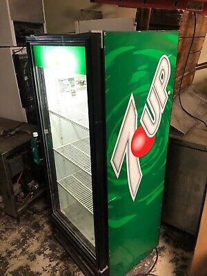 Glass Door Beverage Cooler True Brand Commercial Drink Refrigerator