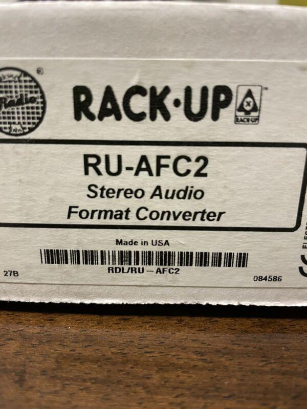 RDL RU-AFC2 Audio Format Converter