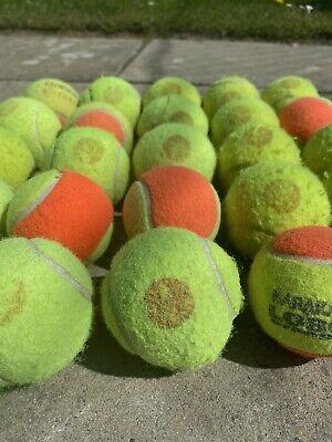 20 Orange Tennis Balls