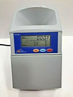 Royal Sovereign Fast Sort Digital Coin Sorter Fs-3d With Tubes Fully Tested