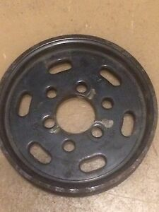 VW power steering pulley 038 145 256A
