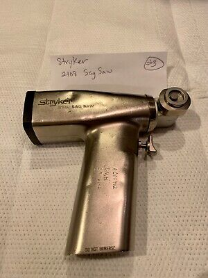 Stryker 2108 Sag Saw Surgical Orthopedic Instrument Used - No Warranty 3