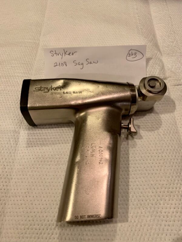 Stryker 2108 SAG SAW Surgical Orthopedic  Instrument USED - NO WARRANTY (#3)