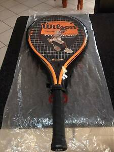 wilson titanium 3 tennis raquet with wilson pro staff bag Sylvania Sutherland Area Preview
