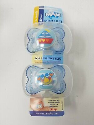 Mam Mini Ulti Silicone 0-6 Months Pacifier