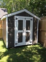 Quality sheds built on site